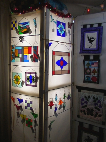 A New Stained Glass Display Just Thinkin