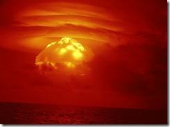 Yikes! Atomic bomb!