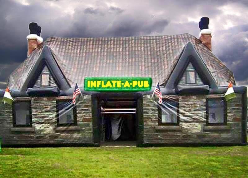 inflate a pub